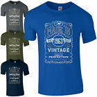 Made in 1963 T-Shirt Born 55th Year Birthday Age Present Vintage Funny Mens Gift