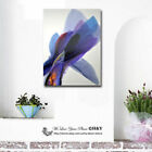 Abstract Colour Purple Stretched Canvas Print Framed Wall Art Decor Painting