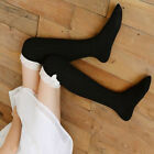 Women Bowknot Lace Thigh High Cotton Stocking Long Knittd Boot Socks New Arrival