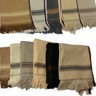AFGHAN PATOO BLANKET WOOL SHAWL PATU LONG SCARF WRAP THICK PASHTUN MENS WOMENS