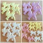 10 x cute Easter/ spring lamb buttons 20mm 3 colours shank on back
