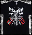 Mayhem - 25 years coat of arms - black t-shirt - OFFICIAL MERCH
