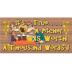 Sign - Beer Sign - Bar Sign - GS 1354  Wood Plaque - Tavern Sign