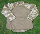 NEW BRITISH ARMY SURPLUS ISSUE DESERT DPM UBACS COMBAT SHIRT, S, M,L,XL & XXL