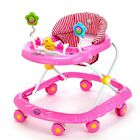 New Baby Walker Toddler Play Tray Toy Musical Activity Steps Learning Assistant