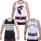 FAMOUS STARS AND STRAPS Canotta UOMO Tank NEW Mens BASKET Nuova JERSEY Varie 3
