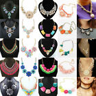 Women Girl's Jewelry Choker Chunky Statement Bib Collar Necklace Pendant Chain