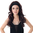 Dayiss Brand Women's Glamour 3/4 Half Wig Long Curly Wavy Hair Fall Clip In Wig