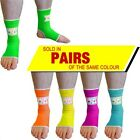 NEON MUAY THAI KICKBOXING MMA ANKLE SUPPORT ANKLETS