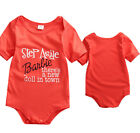 Summer Newborn Toddler Baby Jumpsuit Boys Girl T-shirt Outfit Clothes set Romper