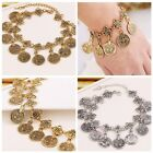 Lovely Women Jewelry Alloy Crystal Gold Silver Chain Crystal Bracelet Bangle New