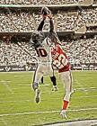 BN195 DeAndre Hopkins Texans Game Action Football 8x10 11x14 Oil Painting Photo