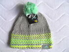 WOMENS ADIDAS CLIMAWARM BOBBLE POMPOM BEANIE TUQUE Hat TAGS GREY AD6