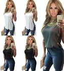 Sexy Women's Lady Summer Vest Top Sleeveless Blouse Casual Tank Tops T-Shirt