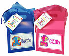 Personalised Boy and Girl 1st Birthday Party Favour Sweets Lunch Gift Box