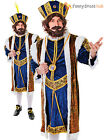 Mens Henry The 8th VIII Costume Adult Tudor King Fancy Dress Royal Historical