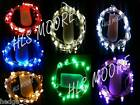 20 LED Battery Fairy Lights in 9 COLOURS and 2 WIRE TYPES! UK seller/stock