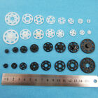 BLACK OR WHITE SEW ON SNAP FASTENERS POPPER PRESS STUDS 8 SIZES