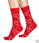 Happy Socks 1 Paar Arrow & Heart Damen Socken Socks Rot Herzen 36-40