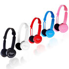Boys Girls Childrens Kids 3.5mm Stereo Headphone Headset Mic for iPod Laptop MP3