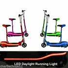 kids 2017 electric ride on e-scooter + colour coded frame + led lights