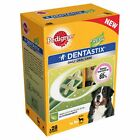 56 stick packs PEDIGREE DENTASTIX FRESH SMALL MEDIUM AND LARGE DOG TREATS