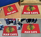 Chicago Blackhawks Man Cave Area Rug Choose from 4 Sizes