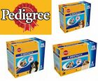 56 Stick Packs of PEDIGREE DENTASTIX SMALL MEDIUM AND LARGE DOG TREATS OPTIONS