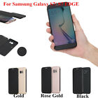 See-through View Invisible Window Smart Rock Cover Case F Samsung Galaxy S7 EDGE