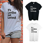 Women T Shirt Letters Printed Cotton Casual Hipster T-shirt Top Tee Blouse EW