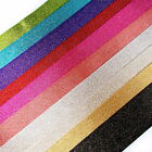 Berisfords Glitter Satin Sparkly Ribbon - Colour and Size Choice