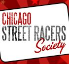 Chicago Street Racers T-Shirt Dragster Drag racing Street Outlaw Musclecar race