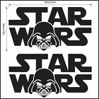 Starwars logo wall sticker 55x30cm 22x12 inch Star wars Darth Vader Transfer