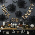 Ginger Ray Trick Treat Halloween Party Partyware Bunting Napkins Set Decoration