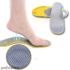 1 Pair New 3D Comfortable Orthotic Shoes Insoles Inserts High Arch Support Pad