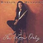 1 CENT CD For Lovers Only - Marion Meadows