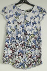 Ladies K&D LONDON  cream/multi butterfly top