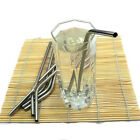 1x Stainless Steel Drinking Straw Eco-friendly Bar Party Banquet Wedding CAMO