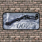 JAMES BOND 007 GUN HARD BACK PHONE CASE IPHONE 4 4S 5 5S SE 5C 6 6S 7 8 PLUS X $11.82 USD on eBay