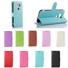 9Colors Litchi Leather Cover Stand Case Pouch For Sony Xperia Phones 38 A