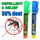 Insect Mosquito Repellent & Relief Spray Pen  Travel Compact Pocket Handbag Size