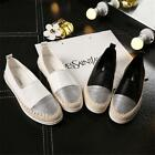 POP Women Espadrilles Slip-On Boat Flat Loafers Shoes Casual Sneakers Shoes - LD