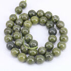 1Bunch Green Round Loose Spacer Beads Charming Pendant Necklace 4/6/8/10/12mm