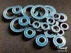 (Blue)Rubber Sealed Ball Bearing For TAMIYA TRAXXAS HPI (8x12x3.5mm) SDA