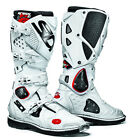 SIDI CROSSFIRE 2 BLACK WHITE MOTORCYCLE OFF ROAD MOTO-X MX ENDURO BOOTS