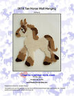 Tan Horse Wall Hanging-Plastic Canvas Pattern or Kit