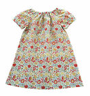 Girl's 0-24 Months Liberty of London Cotton Handmade Dress, D'Anjo Fabric