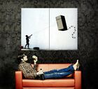 Fridge Kite Kid Banksy Graffiti Street Art Gigantic Print POSTER