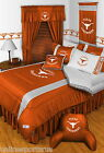 Texas Longhorns Comforter Sham Bedskirt Drapes & Valance Twin to King Size