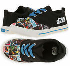 Boys Disney Official Star Wars Lace Up Trainers New Kids Footwear Sizes UK 11-2